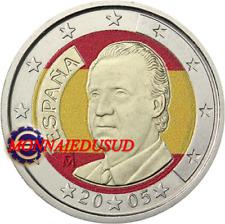 2 Euro Espagne en Couleur Type A - Juan Carlos