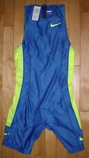 Nike Tri Triathlon Singlet Mens Running Suit Jersey FitDry Track & Field Cycling