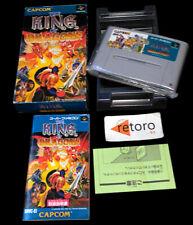 THE KING OF DRAGONS Super Famicom Nintendo SNES SFC JAP Complete Capcom