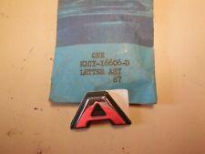 NOS 1981 - 1983 Mercury Capri Hood Letter A E1CY-16606-D