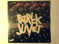 "PATRICK JUVET Getting to the heart of me 7"" ITALY COME NUOVO LIKE NEW!!!"