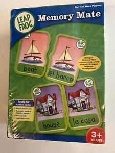 Leap Frog Memory Mate Bilingual Learning Game English & Spanish 2006 Cardinal