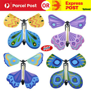 up to 100x Magic Flying Butterfly Toy Anniversary Greeting Card Birthday Wedding