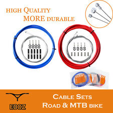 EOOZ Bike Front Rear Galvanize Inner Outer Wire Brake Gear Shifter Cable Kit