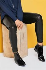 Faux Leather Tall Leggings for Women