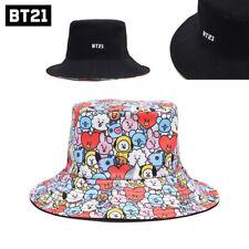 BTS Official Goods BT21 Reversible Bucket hat (Bangtan Boys) NEW LINE  Freeship ff4c4ad44a62