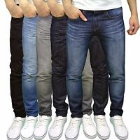 Conspiracy Mens Designer Slim Fit Jeans - Available in 5 Colours BNWT