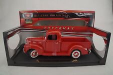 1:18 moteur Max - 1940 Ford Pick-Up Red /Rouge - moulé sous pression - rare -