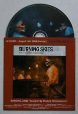 Burning Skies Murder By Means Of Existence Adv Cardcover CD 2004