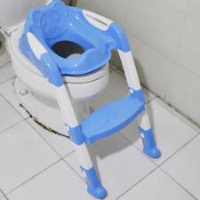blau Toilettentrainer 3 in 1 Kinder WC Sitz Toilettensitz Lerntöpfchen