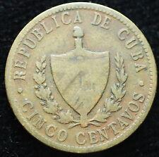 1943  Cinco centavos