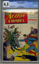 ACTION COMICS #125 CGC 6.5 GOLDEN AGE SUPERMAN LUTHOR APPEARANCE