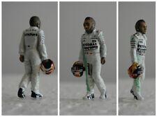 Lewis HAMILTON Mercedes 2015 figurine pilote diorama 1/43 F1 driver figure