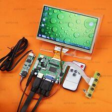 "7"" AT070TN90 + Touch Screen + Monitor For Raspberry Pi-(HDMI+VGA+2AV) Lcd Driver"