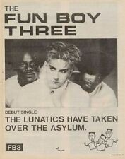 Fun Boy Three '45 advert 1981 ABCD