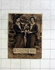 1936 Miss Jean And Miss Matty Park Portobello Edinburgh, Skelton Show Judges