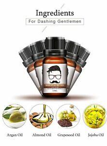 Natural Organic Hair Growth Essence Moustache Beard Oil  Bartpflege