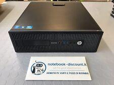 HP EliteDesk 800 G1 SFF Intel Core i7-4770 3.40GHz Ram 8gb HDD 500gb desktop PC
