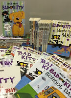 Lot of 10 BAD KITTY *Random Mix* Paperback Nick Bruel Books Scholastic FREE SHIP