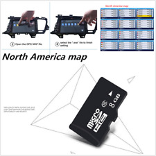 8GB Micro SD Card Car GPS Navigation Software For WinCE With North America Map