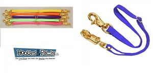 """Tough-1 Adjustable Trailer Tie Panic Snap Adjusts 18"""" to 36"""" Double End Stitched"""