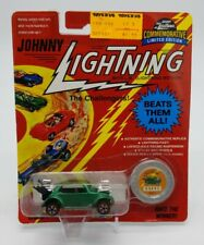 Johnny Lightning 1/64 Challengers VW Bug Bomb Series A Limited Ed Green Hot Rod