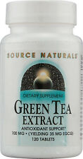 Green Tea Extract, Source Naturals, 60 tablet 100 mg
