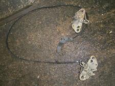 Lancia Montecarlo Scorpion Bonnet Catches and Cable / pivot