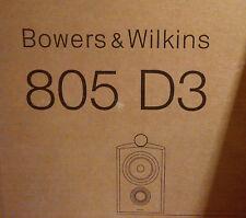 B&W 805 D3 Schwarz Gloss Black Bowers&Wilkins Diamond # NEU & OVP