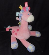 MARY MEYER TAGGIES BABY GIRL PINK GIRAFFE STUFFED ANIMAL PLUSH SOFT TOY LOVEY