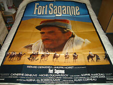 AFFICHE   DEPARDIEU / DENEUVE / FORT SAGANNE