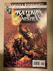 WOLVERINE PUNISHER # 1 VF/ NM+ 9.6 MARVEL KNIGHTS 2004
