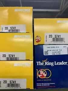 Hastings 2D5741 STD Piston Rings 2008-2010 32V Ford 6.4 6.4L Powerstroke Diesel