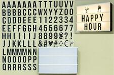 LED Lightbox Lichtbox 30cm Inkl. Buchstaben