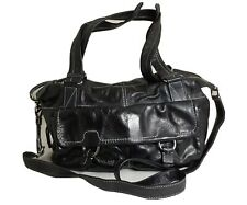 Banana Republic Genuine Cow Leather Two Way Shoulder Crossbody Satchel Bag