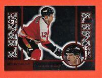 1997-98 Donruss Promo Jarome Iginla Calgary Flames - Line 2 Line - Nm Mint