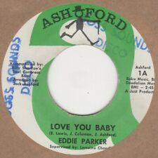 Eddie Parker Love You Baby Ashford  Soul Northern Rocksteady
