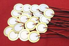 20 Piezo Disc Contact Mic Sensor Midi Drum Trigger Disk CBG Acoustic Pickup 20mm