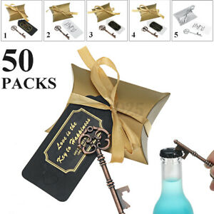 Wedding Souvenirs Gift Bags Party Bottle Opener Candy Pouch Packaging Bag Ribbon