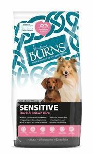 Burns Sensitive Duck & Rice Adult & Senior Dog Food | Dogs