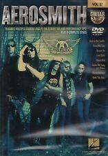 GUITAR PLAY ALONG DVD 37 Aerosmith