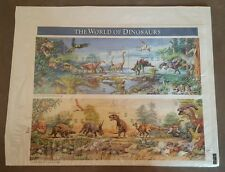 A World of Dinosaurs sheet set, Mint in Package Stamps