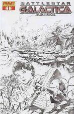 BATTLESTAR GALACTICA ZAREK Comic Book Incentive n°1 BSG Zarek Incentive n°1