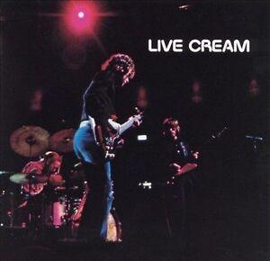 CREAM Live Cream CD BRAND NEW Remastered Eric Clapton