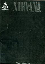 Nirvana songbook Recorded Versions Guitar tab sheet music Dumb Rape Me Lithium