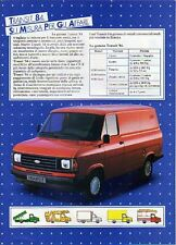 Z21 Ritaglio Clipping 1984 Ford Transit