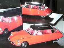 CITROEN DS 19 1962 rouge rosé / UNIVERSAL HOBBIES