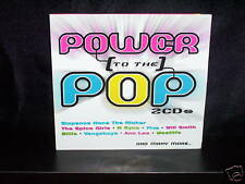 VARIOUS POWER TO THE POP - RARE AUSTRALIAN DOUBLE CD NM