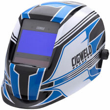 Cigweld PROPLUS WELDING HELMET 97x62mm Viewing Area, 4 Optical Sensors RACER