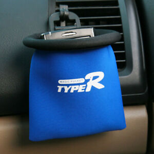 Auto Air Vent Catch All Storage Organizer Holder Pocket : Car Caddy, Soft Sided